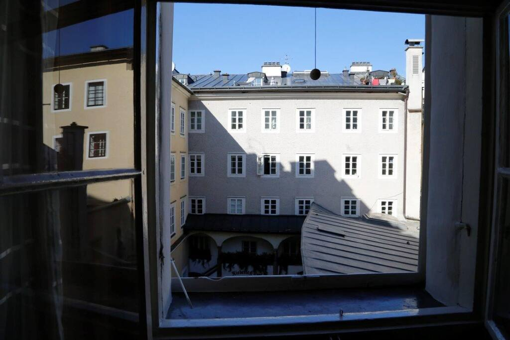 Blick in Innenhof