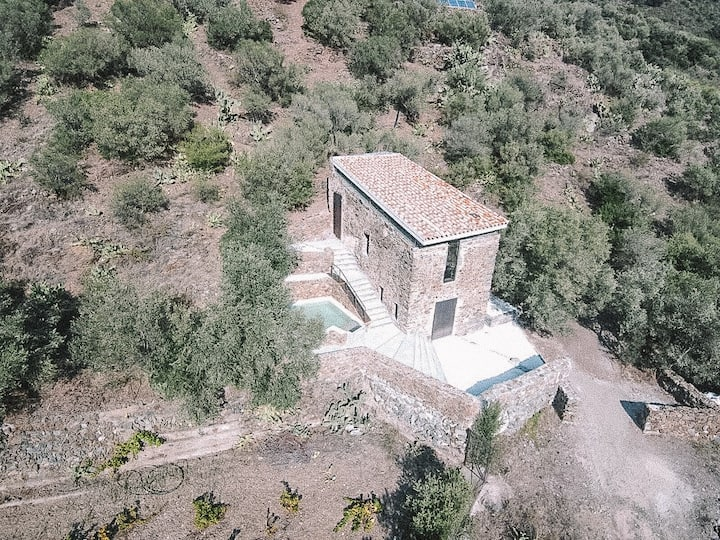 Eco-retreat surrounded by nature 3 km from the sea