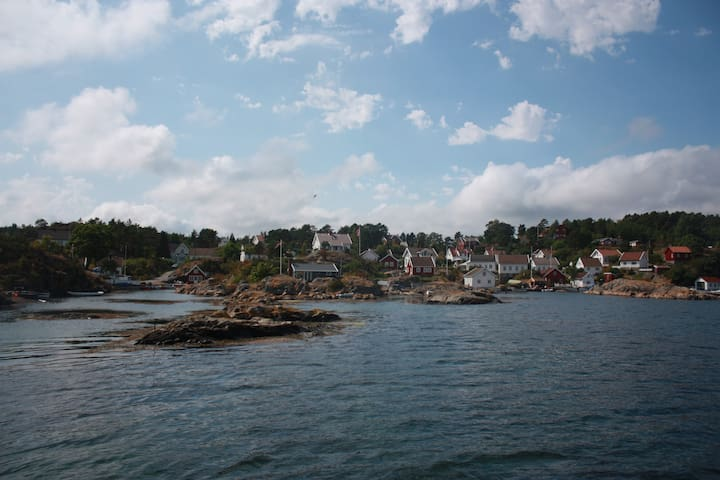 Holmesund: Beautiful holiday house by the sea - Staubø - Дом