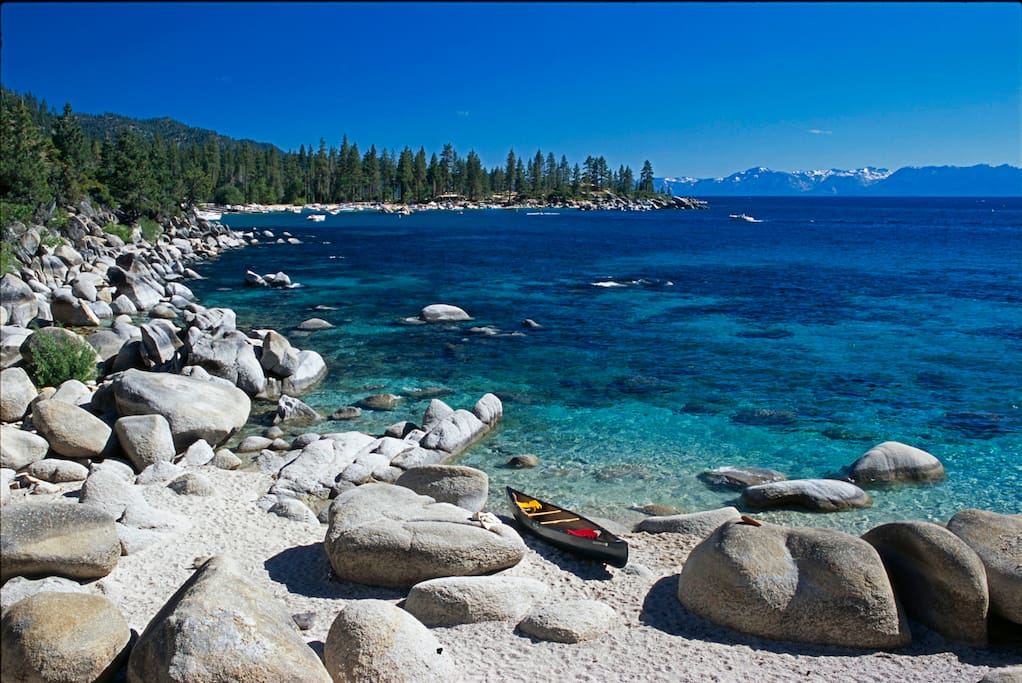 Spend Time on The East Shore of Tahoe.