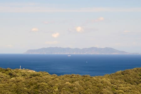 House with sea and mountain views - Rogliano HAUTE- CORSE