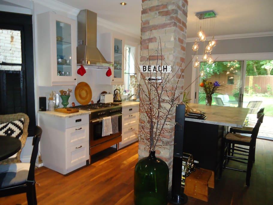 Gourmet designer kitchen!