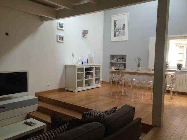 Appt style Loft Hypercentre - Metz - Casa