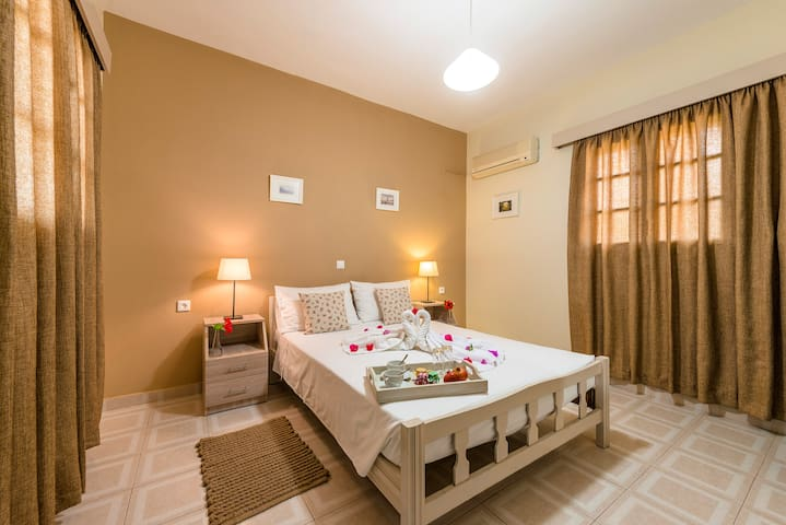 50m from STEGNA Beach - Double Bed
