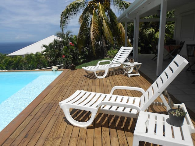 Grande Villa vue mer et piscine - Case-Pilote - Villa