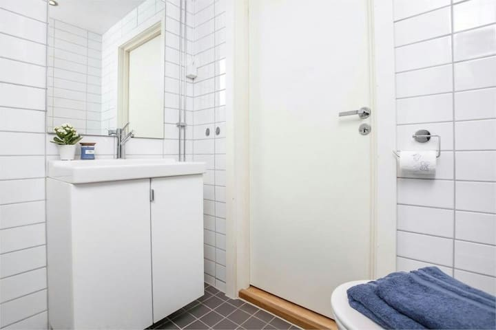 Private room- light and central apt - Oslo - Apartament