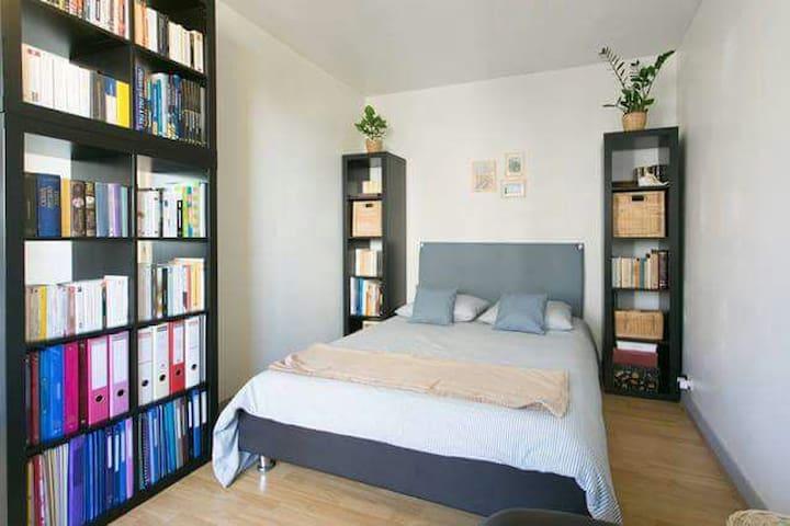 Studio 30m² confortable Parc Expo +parking gratuit - Vanves - Apartment