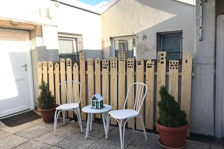 Carinissima mansarda sui tetti