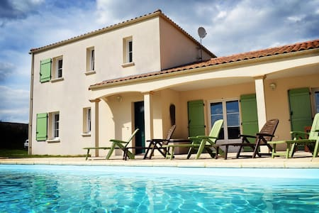 Villa Vendee - ideal for Vendee family holidays - Thouarsais-Bouildroux