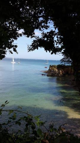 Chambres d'hotes, bord de mer, au calme