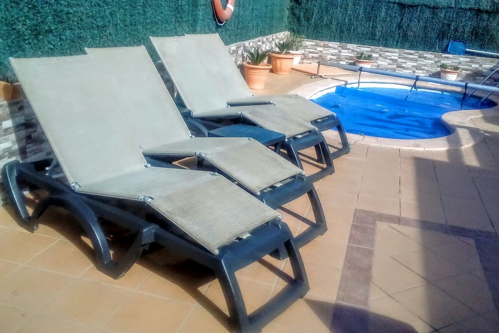Comfortable Sunloungers