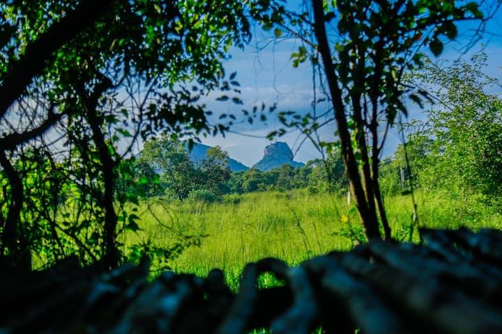 Luxury Double Room with Sigiriya (Lion Rock) View