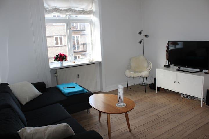 Cozy apartment near City centre - København Ø