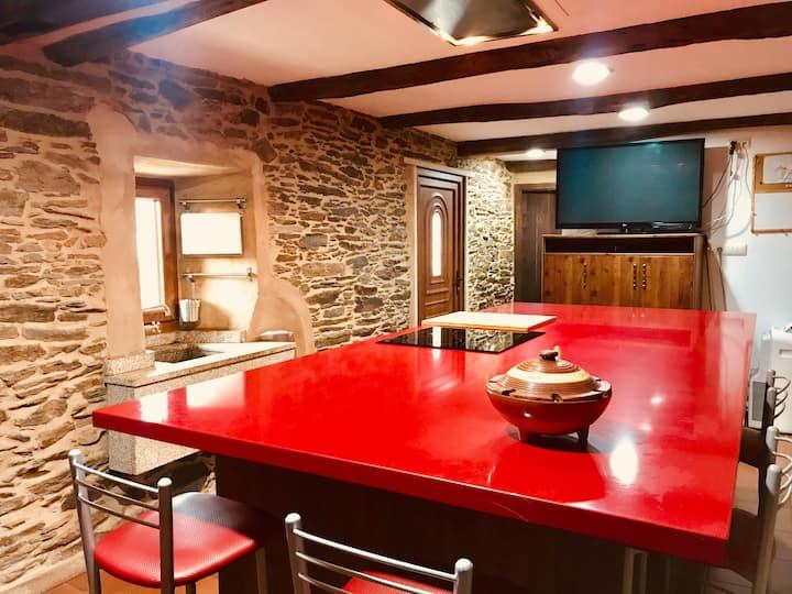 Cozy cottage close to Santiago de Compostela