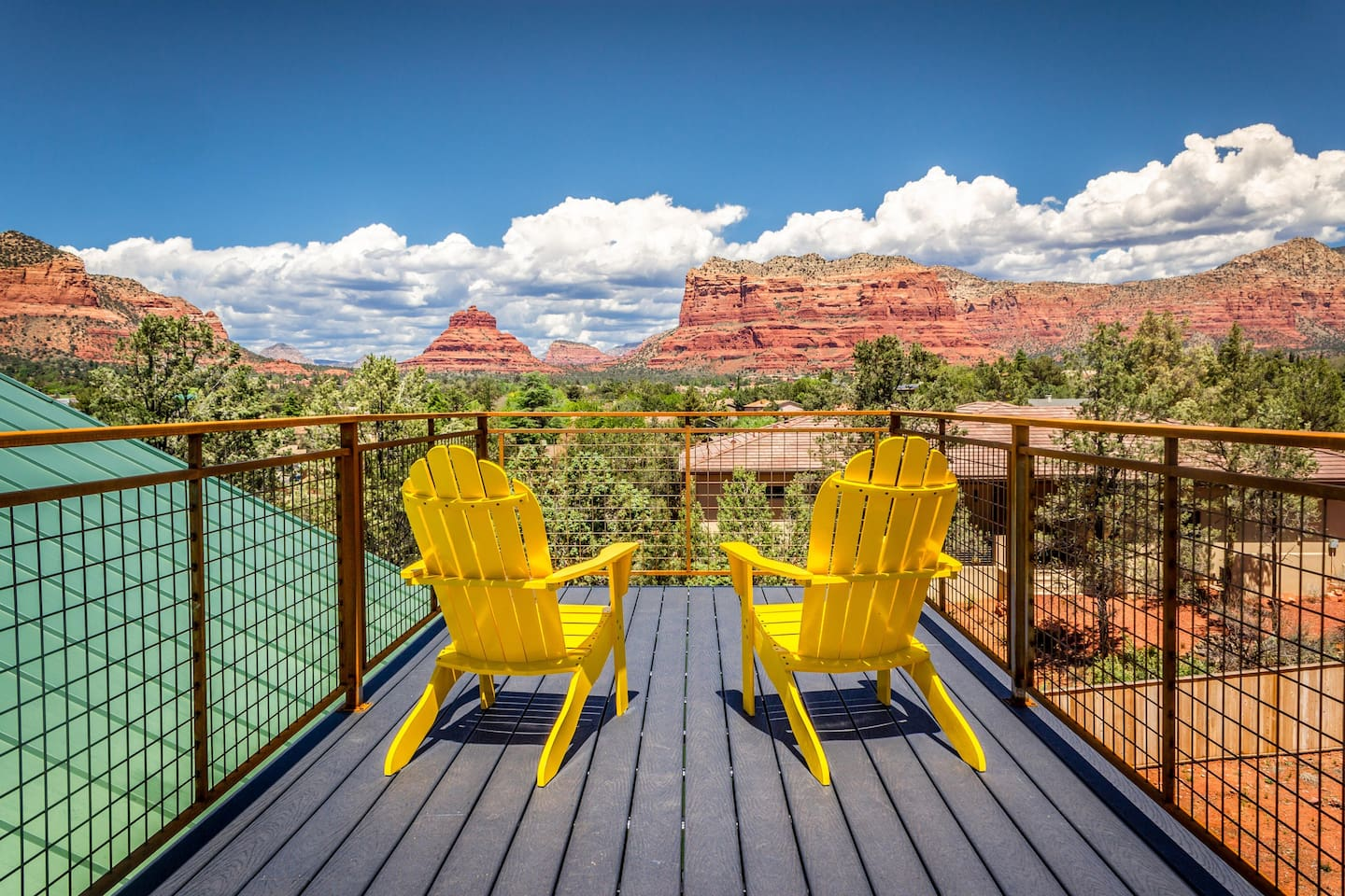 The Skydeck at the Sedona Dream Maker