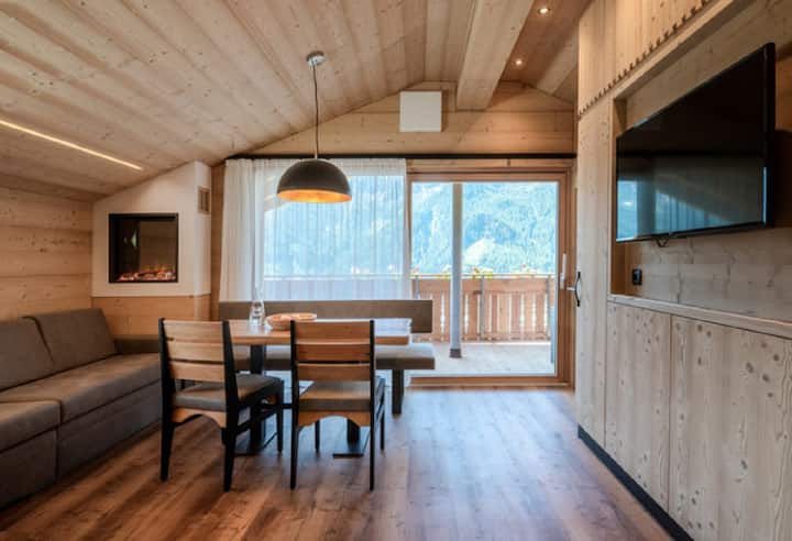"Charming Wooden Holiday Home ""Chalet Henne-Hochgruberhof"" in Idyllic Mountain Location with Own Sauna, Garden, Balcony, Mountain View, Wi-Fi & TV; Parking Available"