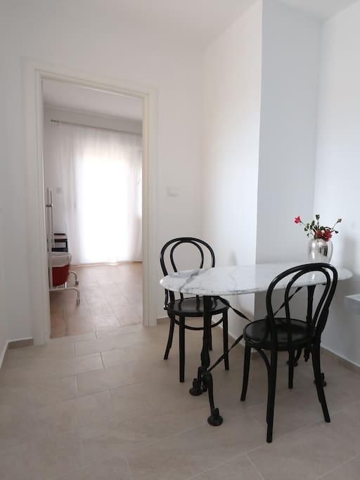 Apartment 3- Kitchen table