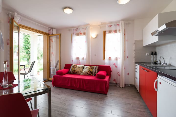 Apartment Dajla (Novigrad) - Red passion x 2 - Novigrad