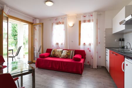 Apartment Dajla (Novigrad) - Red passion x 2 - Novigrad - Wohnung