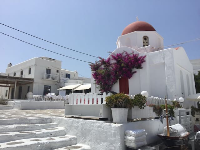 At the Heart of Mykonos Town- CYCLADES apartment