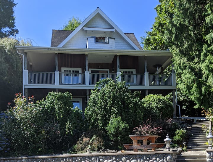 Apartment close to Maple beach in Point Roberts W