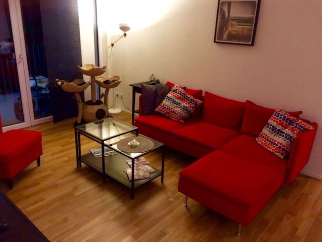 Topmoderne 4.5 Zi-Wohnung, 21 min zum HB Zürich - Lenzburg - Apartemen berlayanan