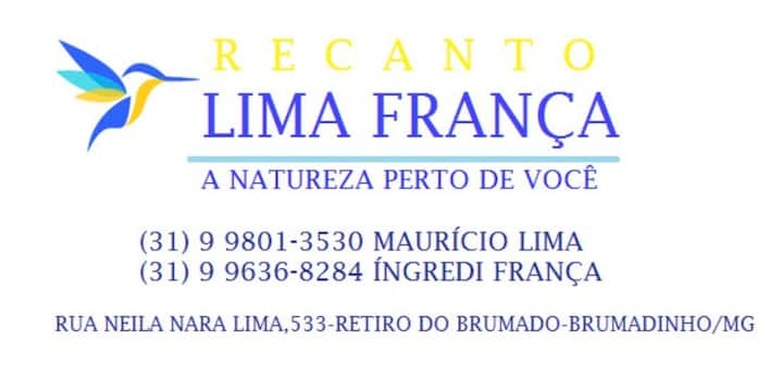 Recanto Lima França 5km de Inhotim
