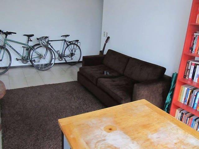 Habitación en departamento en Barrio Italia