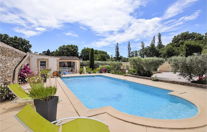 Nice home in Lancon de Provence with WiFi and 0 Bedrooms