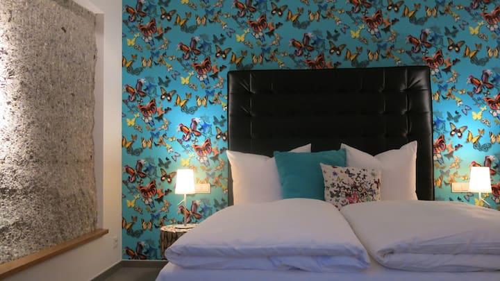 Garden Suite im Hotel im Bunker