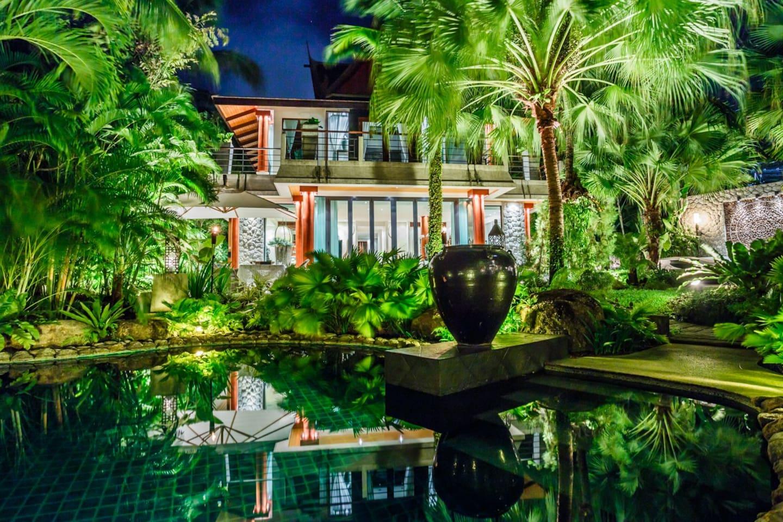 5 bedroom Villa in the Garden, Surin Beach, Phuket - Villas for Rent ...