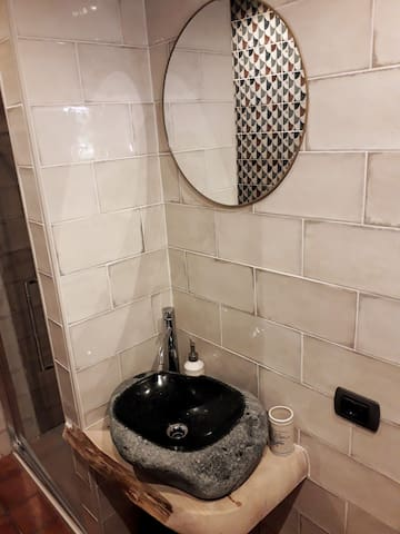 Corner of the bathroom