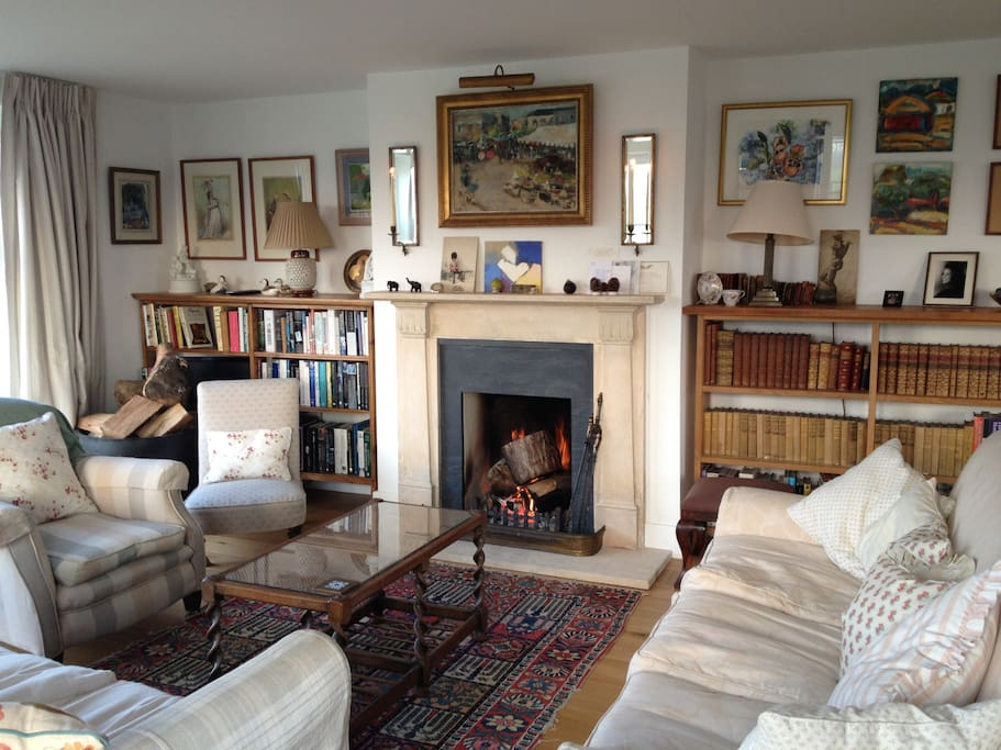 Drawing room for peaceful being