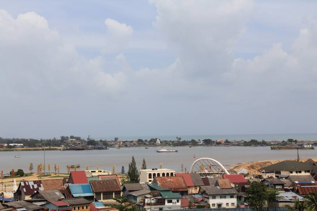 View from Homestay