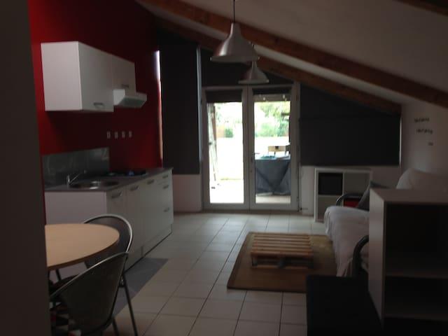 Studio indépendant dans maison individuelle - Gagnac-sur-Garonne - Huis