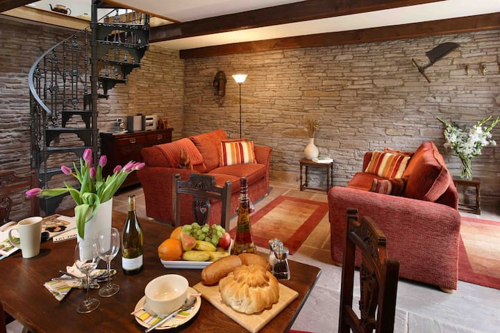 Holt Stable - a hideaway for two. - near Hay-on-Wye - Huis