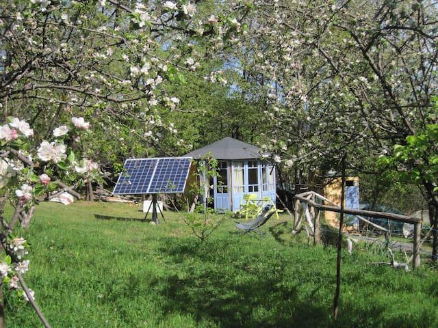 hébergement insolite : kiosque bois - Sahorre - กระท่อม