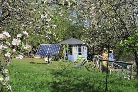 hébergement insolite : kiosque bois - Sahorre - Chalet