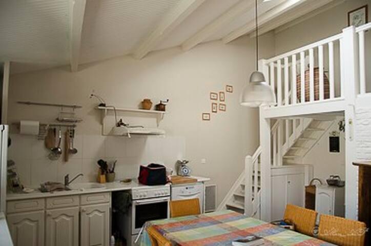 Maison de charme entre terre et mer - Le Givre - House