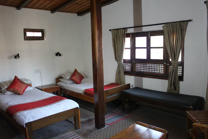 Krishna House - Twin Room - Bhaktapur