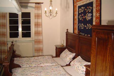 Alte Burgküche als Doppelzimmer - Bühlertann - Apartamento