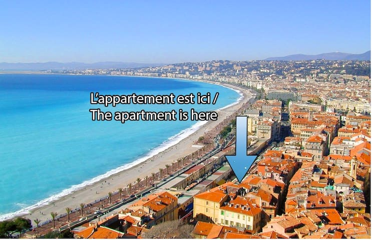 Fabulous Apartment in Old Nice - Nice - Apartemen