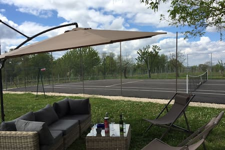 Maison de campagne de charme,piscine, tennis - Vielle-Tursan
