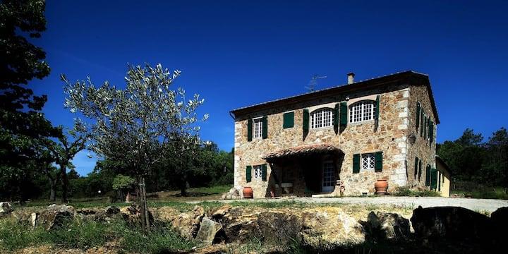 Podere Santa Caterina: avete casa in Val d'Orcia!