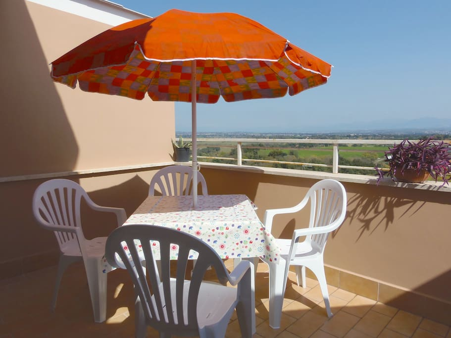 The terrace...ideal for your breakfast