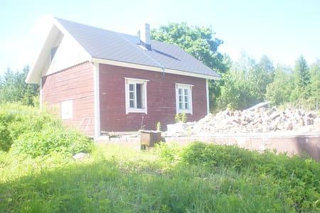 Loghouse & sauna 60 kms toTampere - Pälkäne