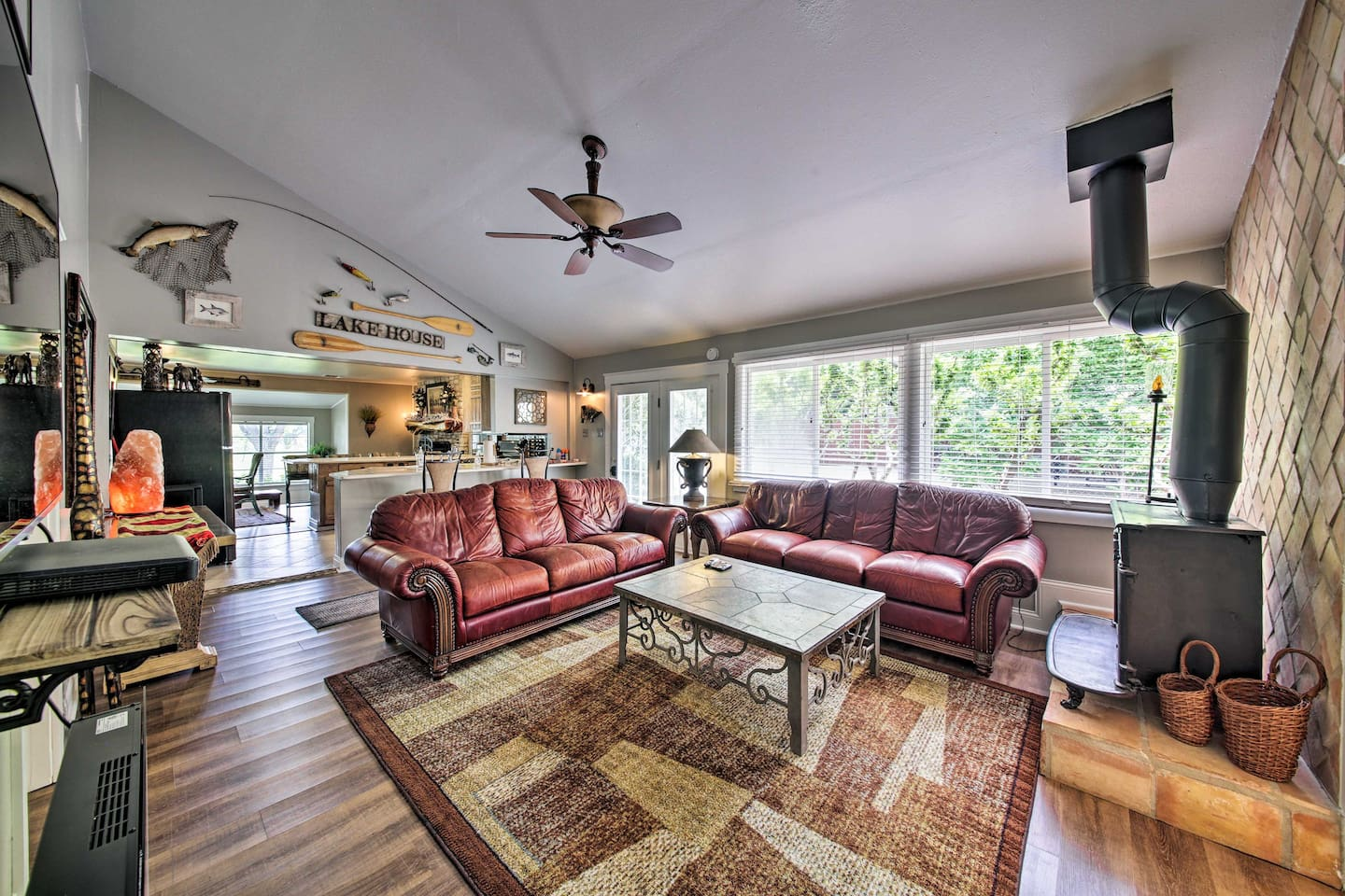 Head to Lake LBJ and stay at this vacation rental house!
