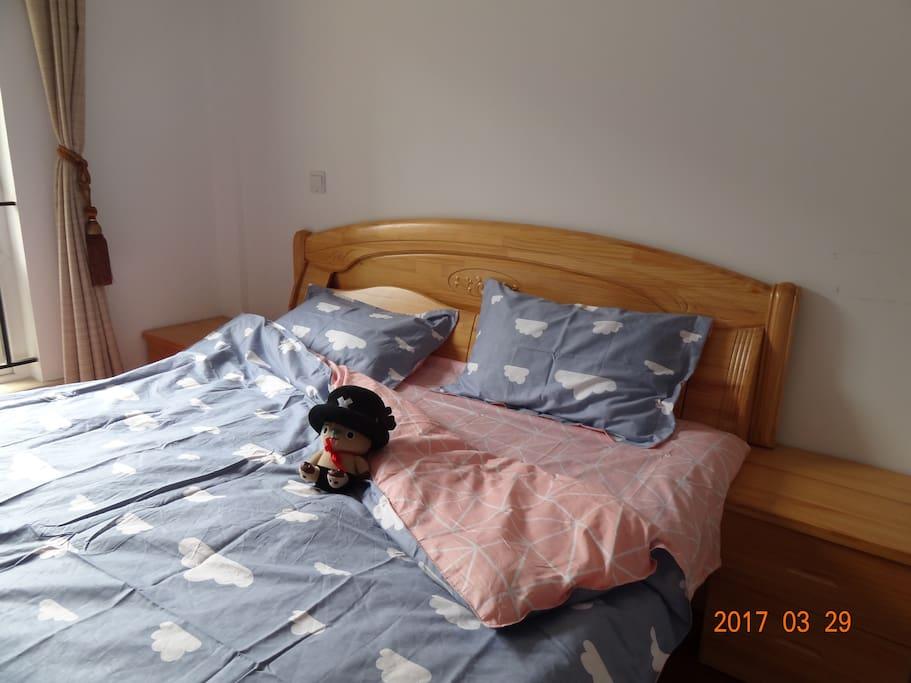 舒适的床铺
