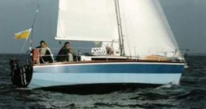Zeilboot Waarschip Hout 9.00
