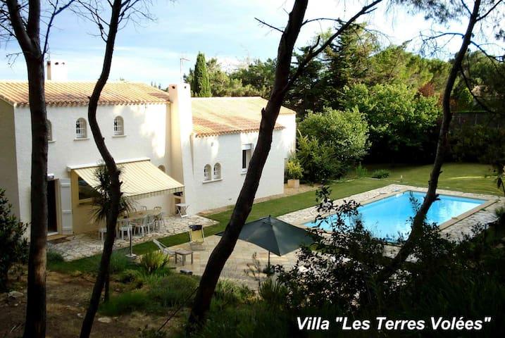 VILLA en pinède avec piscine TENNIS - Béziers - วิลล่า